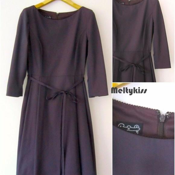 Cynthia Rowley Dresses & Skirts - AUTHENTIC CYNTHIA ROWLEY HIGH WAIST DRESS W/BELT